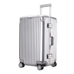 Vérifié Cadre En Aluminium Valise valiz Chariot Bagages Cadenas tsa Koffer Mala de viagem Spinner Roue Valise ABS Valise Cabine