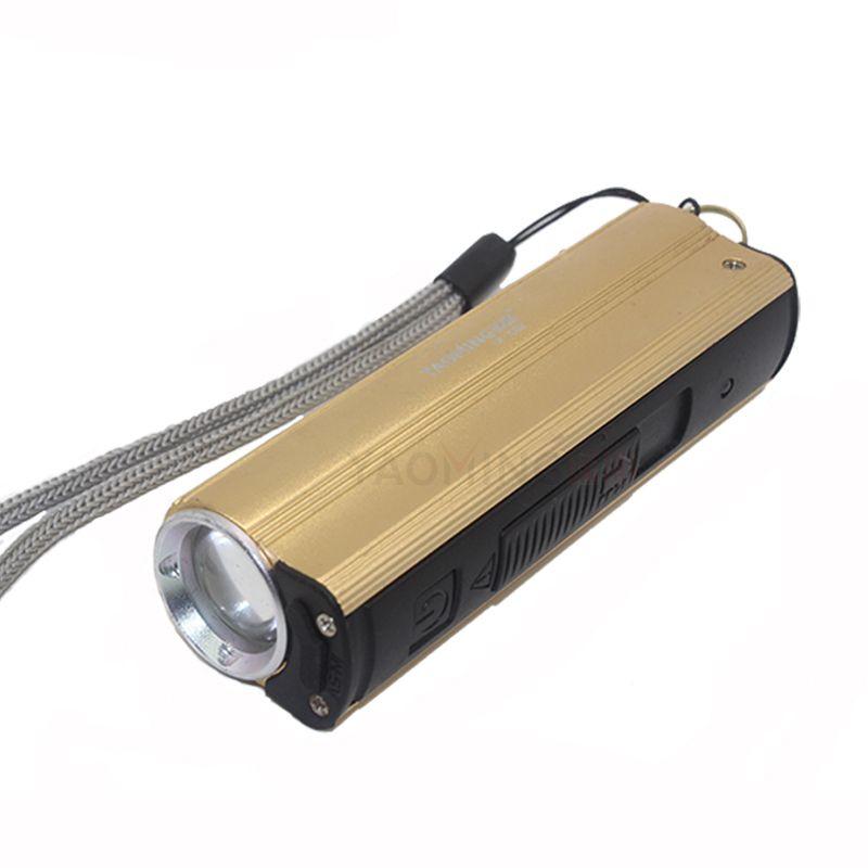 Led lampe de poche puissance banque 2000lm 3 modes rechargeable cree led lampe torche portable lanterne linternas par 18650 USB lampe de poche led