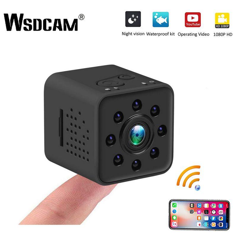 Wsdcam Mini caméra WIFI caméra SQ13 SQ23 SQ11 SQ12 FULL HD 1080 P Vision nocturne coque étanche CMOS capteur enregistreur caméscope