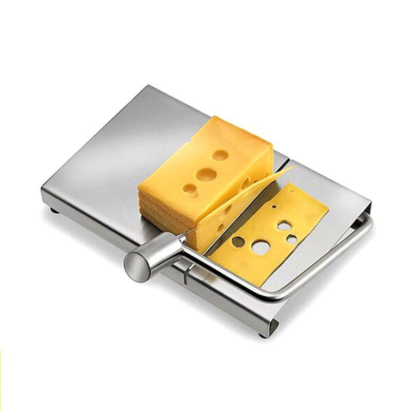 Neue Edelstahl Käse Butter Slicer Schneiden Draht Bord Klinge Küche Kochen Backen Backformen Werkzeuge Mit 5 Draht XH8 DC156