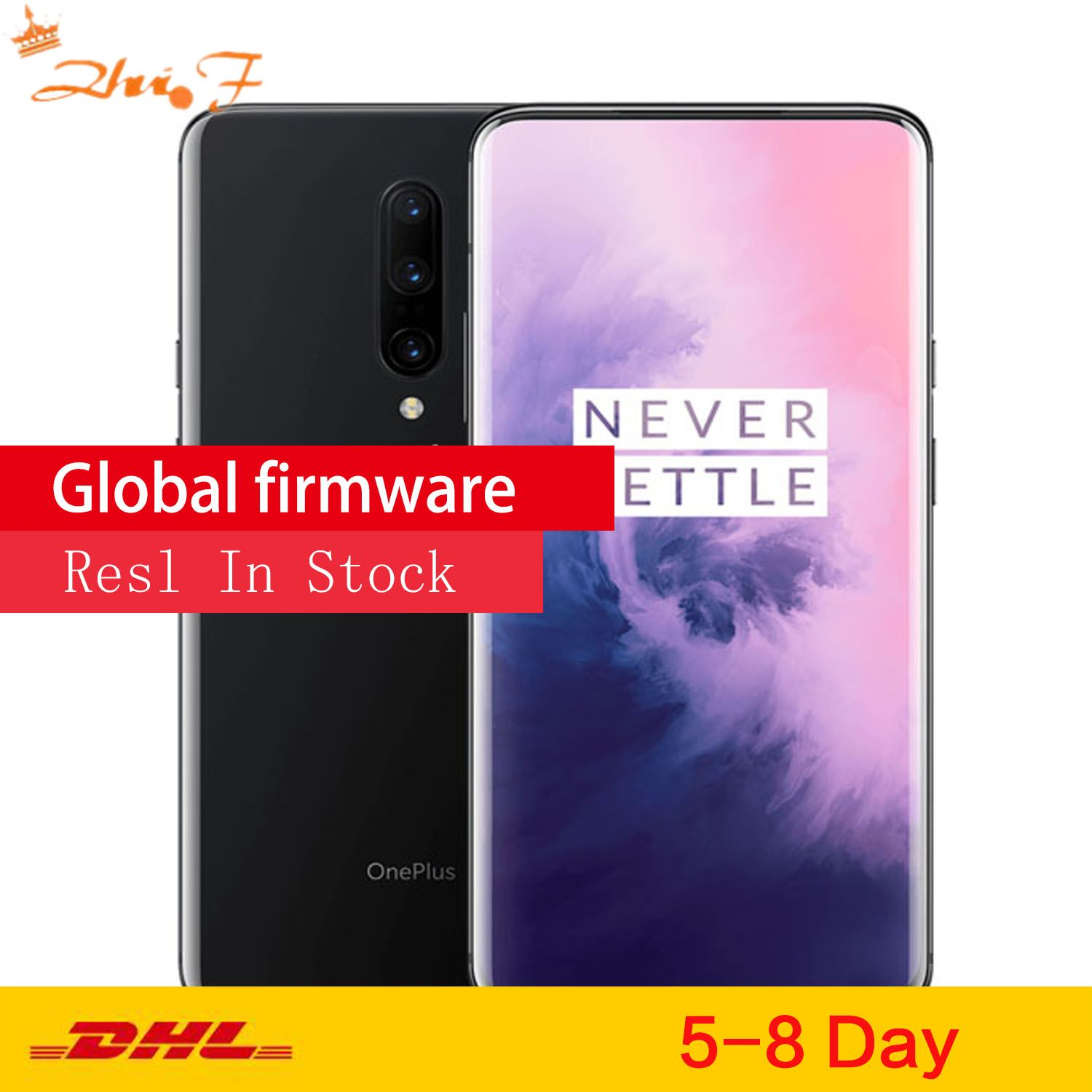 Global ROM Original Oneplus 7 PRO Smartphone 6.2'' 2340*1080P Android 9 Snapdragon 855 6G RAM 128G ROM Mobile Phone