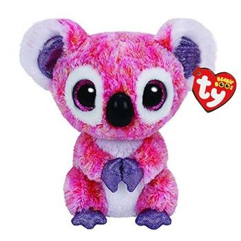 Ty Beanie Boos Stuffed & Plush Animals Pink Koala Toy Doll With Tag 6