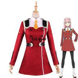 LIEBLING in die FRANXX NULL ZWEI Kleid Uniform Outfit Anime Cosplay Kostüme