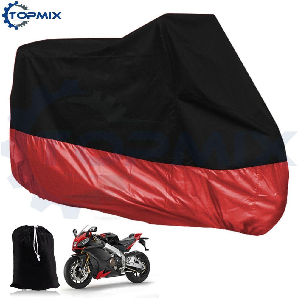 Универсальный черный + красный Водонепроницаемый Двигатель цикл Moto Двигатель велосипед Электрические велосипеды Крышка Двигатель дождеви...