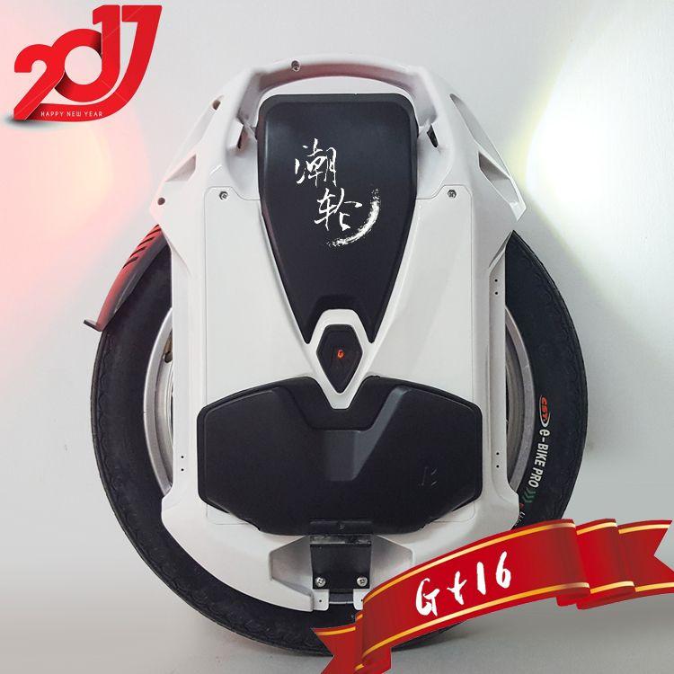 2019 Rockwheel GT16 monocycle électrique 40 + km/h 858WH/1036WH 84 V 2000 W moteur, 16 pouces une roue scooter vélo électrique en stock