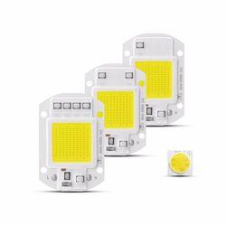 Высокая Мощность COB светодиодный светильник чип 220 В Smart IC драйвера не светодиодные огни COB Светодиодный лампа прожектор 3 Вт, 5 Вт, 7 Вт, 9 Вт, 20 В...