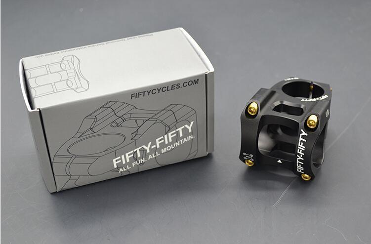 Vélo vtt tiges SUIS FR ENDURO tige vélo en aluminium vélo vélo pièces tige 35mm/50mm 0 degrés