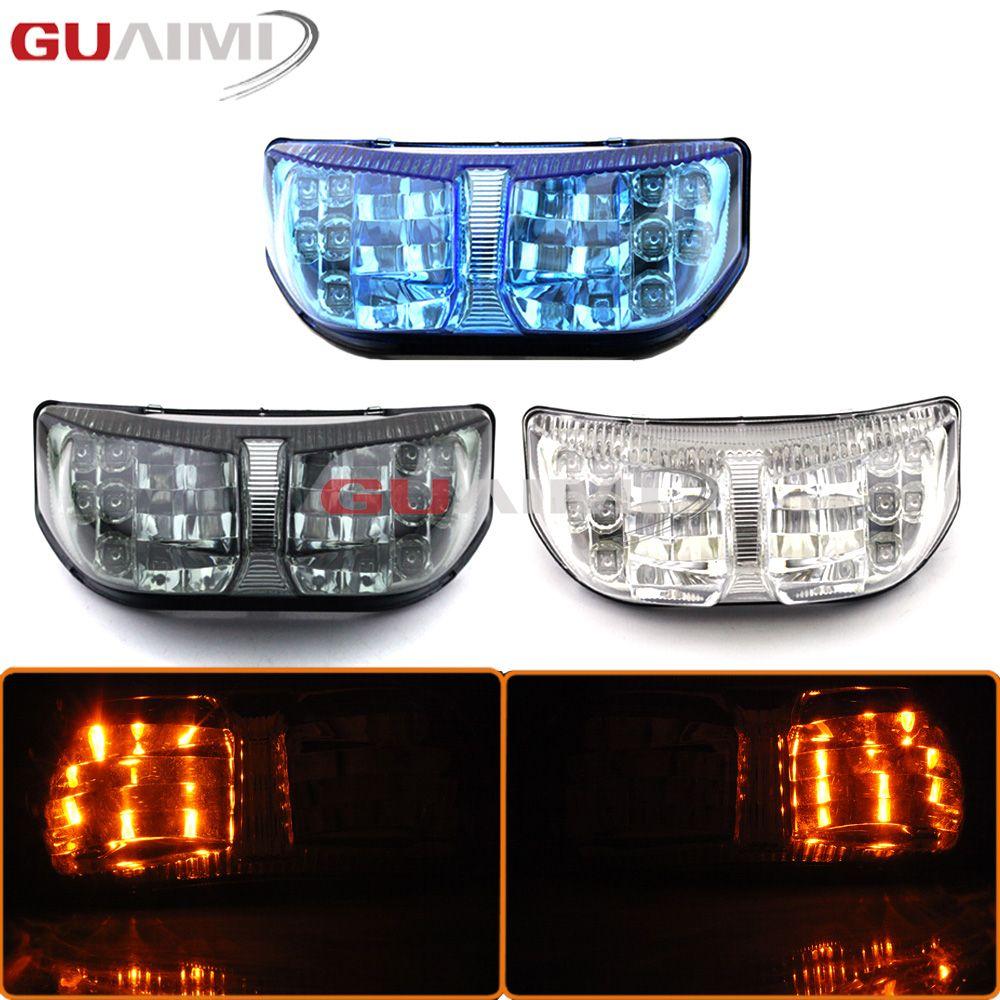 Für Yamaha FZ8 Fazer 2010-2013 FZ1N FZ1 Fazer 2006 2007 2008 2009-2013 Integrierte LED Hinten Drehen signal High Qualität Schwanz Licht