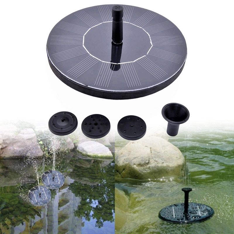 Solar <font><b>Power</b></font> Floating Water Pump Solar Panel Kit Garden Plants Watering <font><b>Power</b></font> Fountain Pool Pond Watering Submersible