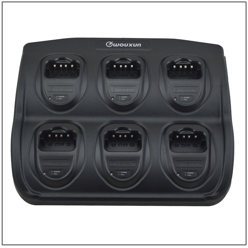 Original Wouxun 6 Way Rapid Charger Six way Multi-charger Universal Rapid for Wouxun KG-816/818/819/869/889/UV899
