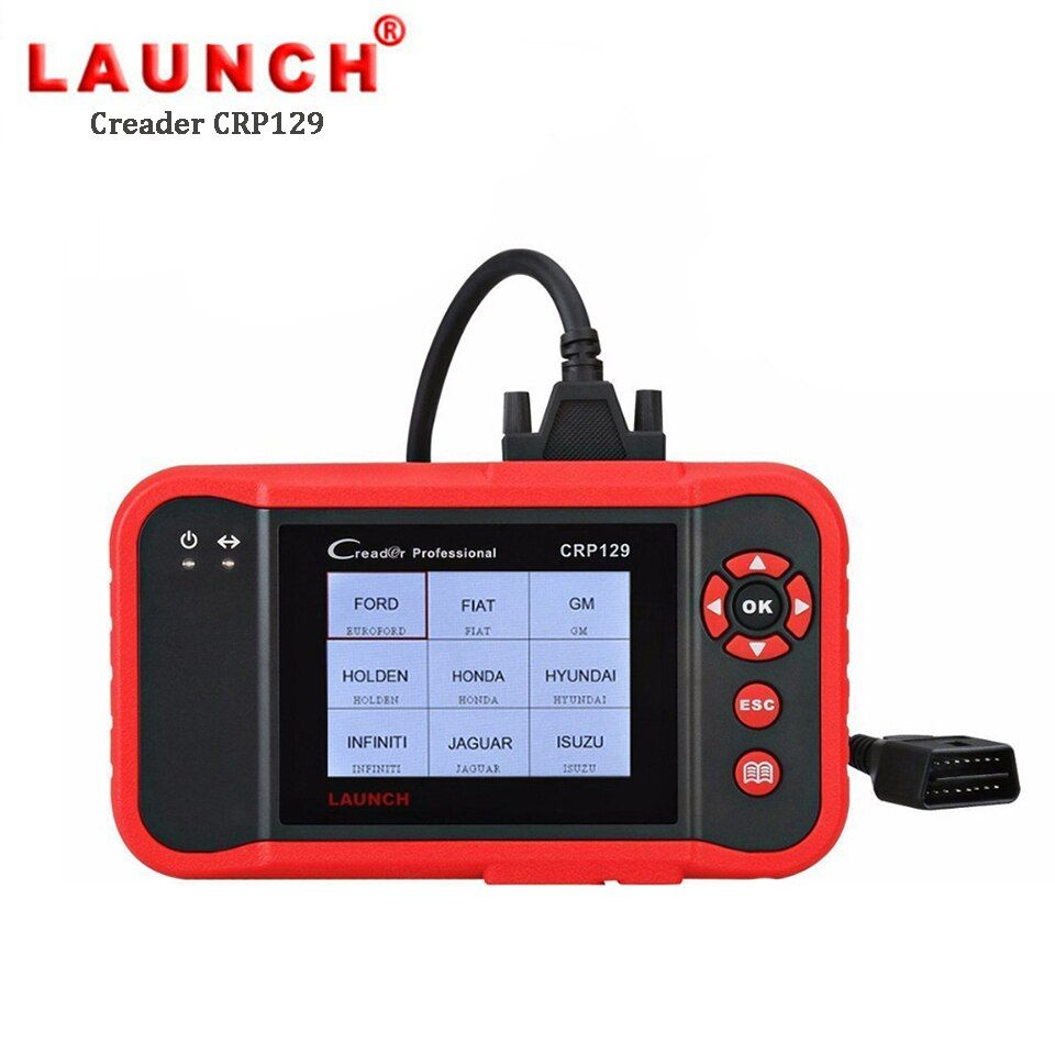 LAUNCH CRP129 OBD2 Scanner Car Diagnostic Tool Engine ABS Airbag Scanner Brake SAS Oil Reset Auto Diagnostics Tools Autoscanner