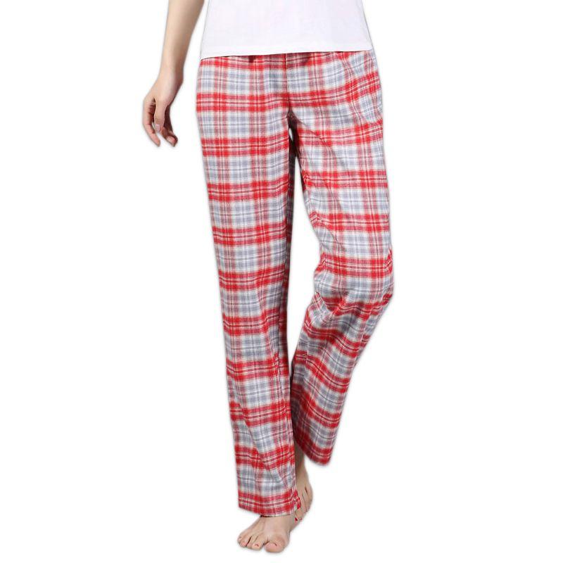 Épaissir 100% coton femmes bas sommeil lâche plus la taille nuit pantalon de nuit pyjama bas femmes pyjama pantalon coton