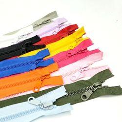 1 pc 5 #50 CM Longueur Haute Qualité Résine Fermetures À Glissière Open-End Sportwear Vêtements Sacs À Coudre Accessoires 12 Couleurs Pick A069