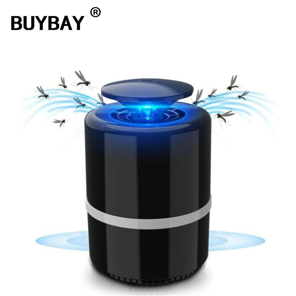 Anti mosquito led USB <font><b>electric</b></font> mosquito killer lamp UV night light anti fly mosquito zapper muggen killer insect trap for Living