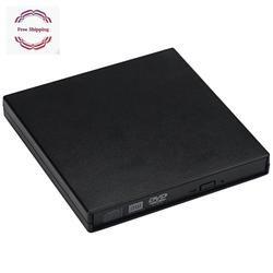 USB IDE Laptop Notebook CD DVD RW Burner ROM Drive External Case Enclosure  External Portable Outdoor Caddy For Laptop CD CR-W