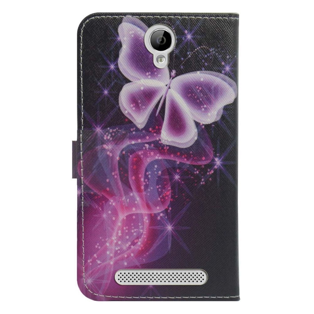 For myphone prime plus case Wallet Card slot deluxe PU leather cartoon cute Cover + mini stylus