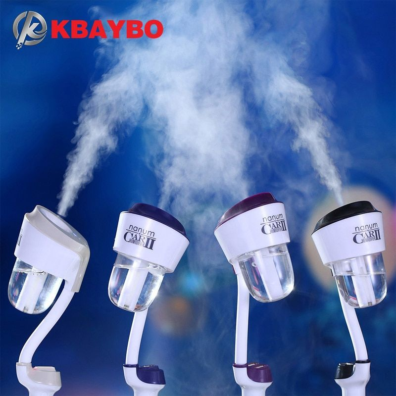 <font><b>Upgraded</b></font> 12V Car Humidifier Air Purifier Aroma Diffuser Essential oil diffuser Aromatherapy Mist Maker Fogger humidificador