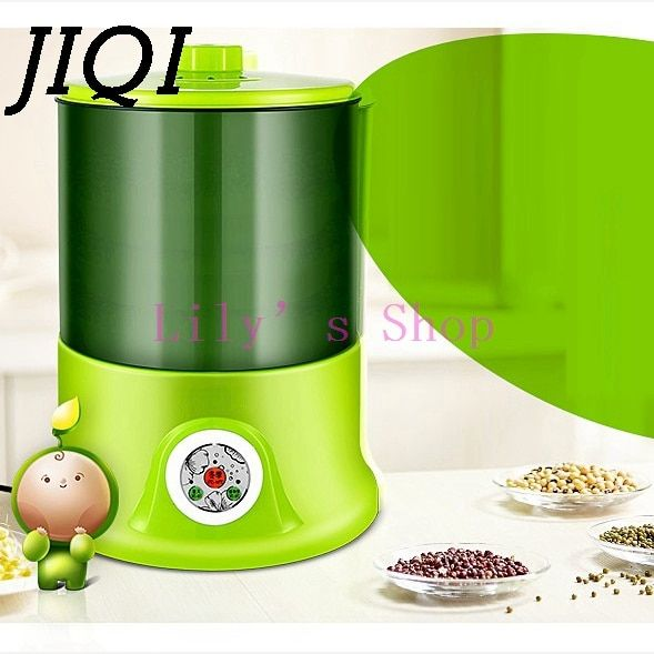 Household Intelligence Bean Sprouts Machine Upgrade Large Capacity Thermostat Green Seeds Growing Automatic Bean Sprout Machine