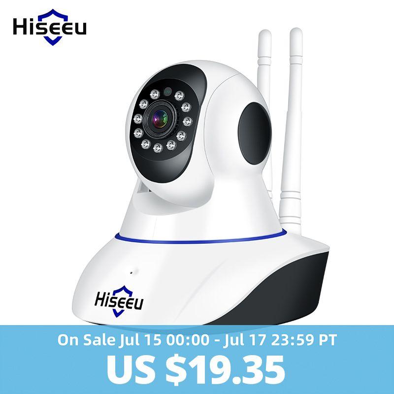 Hiseeu 1080 P 1536 P caméra IP sans fil caméra de sécurité à domicile caméra de Surveillance Wifi Vision nocturne caméra de vidéosurveillance 2mp moniteur bébé