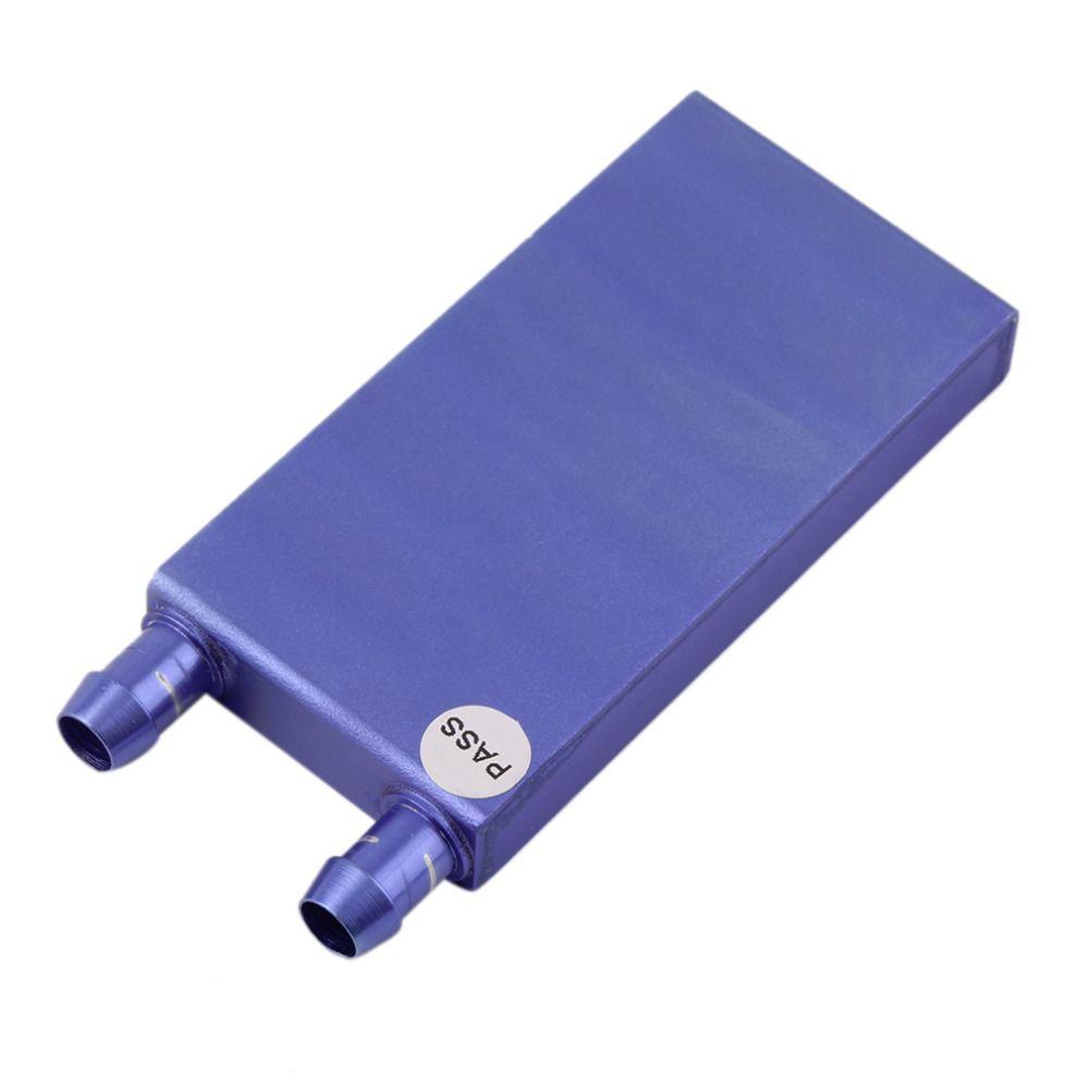40*80*12mm Aluminium Wasserkühlung Kühlkörper Flüssigkeitskühler Für CPU GPU Großhandel dropshipping
