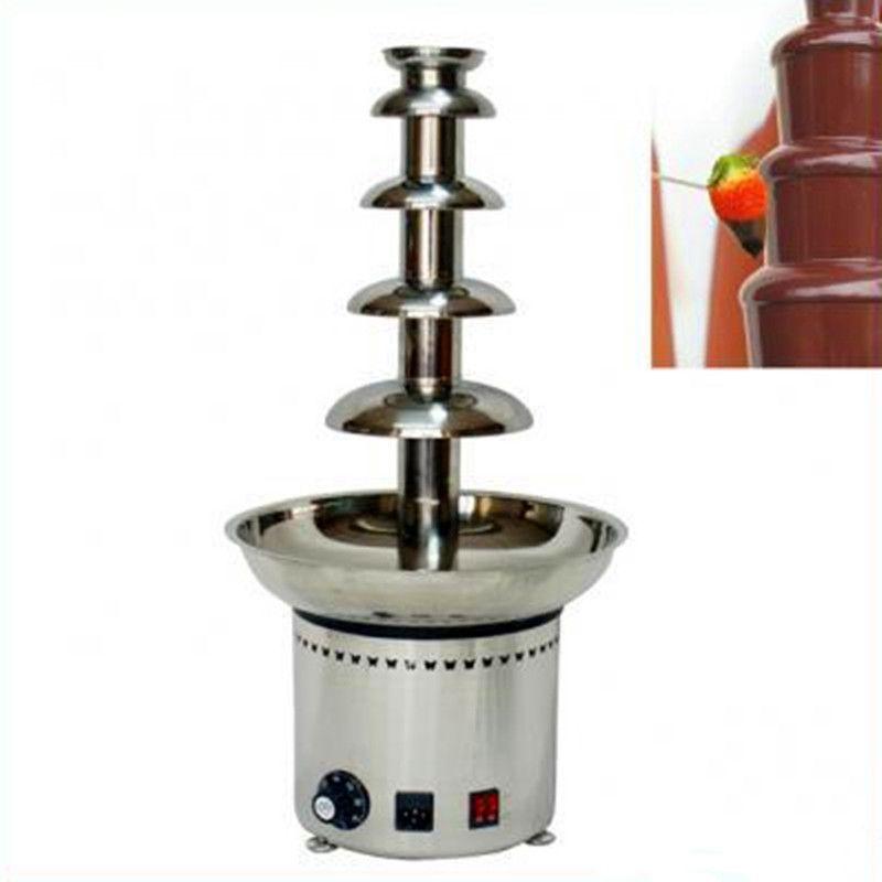 Mini electric chocolate fountain machine 5 tiers ZF