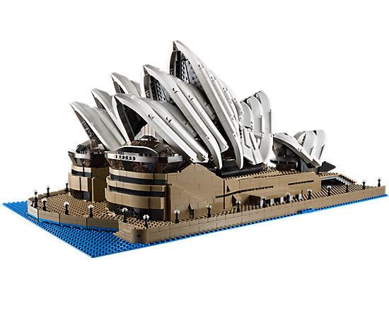 Lepin City Series 17003 2989Pcs Sydney Opera House Model Building Blocks Toys DIY Gifts educational for children Compatible 1022