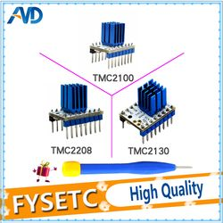 TMC2100 V1.3 TMC2130 TMC2208 V1.0 Stepper Motor StepStick Mute Driver Silent Excellent Stability And Protection With Heatsink