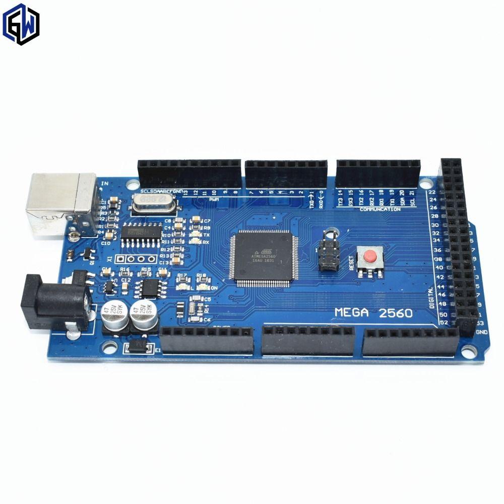 TENSTAR ROBOT MEGA2560 MEGA 2560 R3 (ATmega2560-16AU CH340G) AVR placa USB