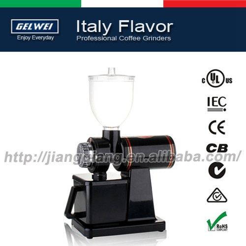 G600NB Automatic electric coffee grinder machine coffee Burr Mill , Black / Storage Capacity (250g)