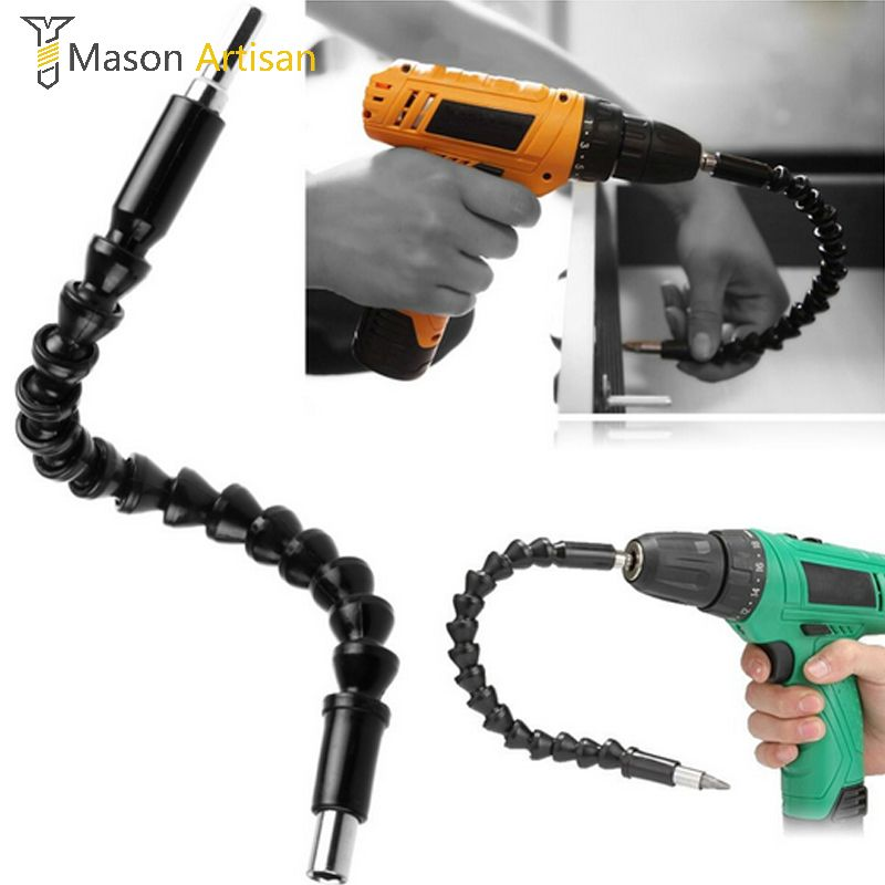 290mm Flexible Bits Extension Bit Holder with Magnetic Quick Connect Drive Shaft Electric Drill Dremel Power Tool Accessories