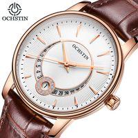 Reloj de pulsera de mujer reloj de pulsera reloj de cuarzo de moda ochsín de marca reloj de mujer