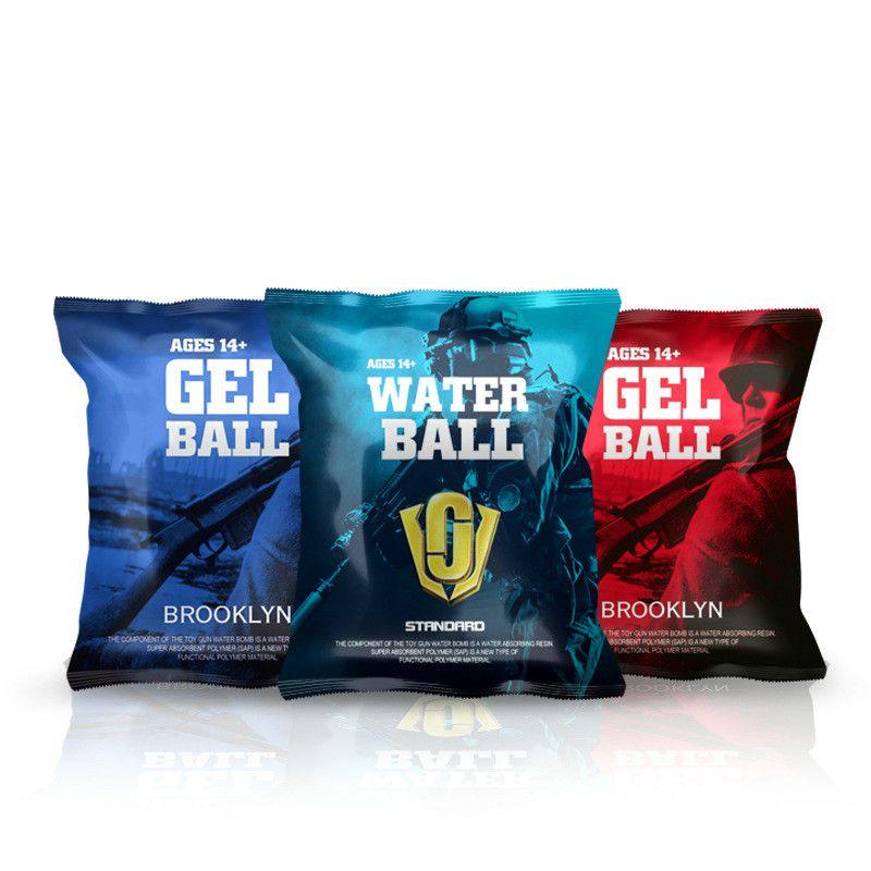 7-8MM 10000 stücke Extra harte gel ball Gehärtet Kristall Bombe Für Jinming wasser spielzeug pistole zubehör