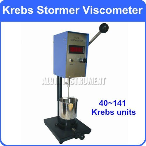 Digital Krebs Stormer Viscometer Viscosity Meter Range: 40~141 KU Resolution:0.1 Kreb unit Accuracy: +-2%FS