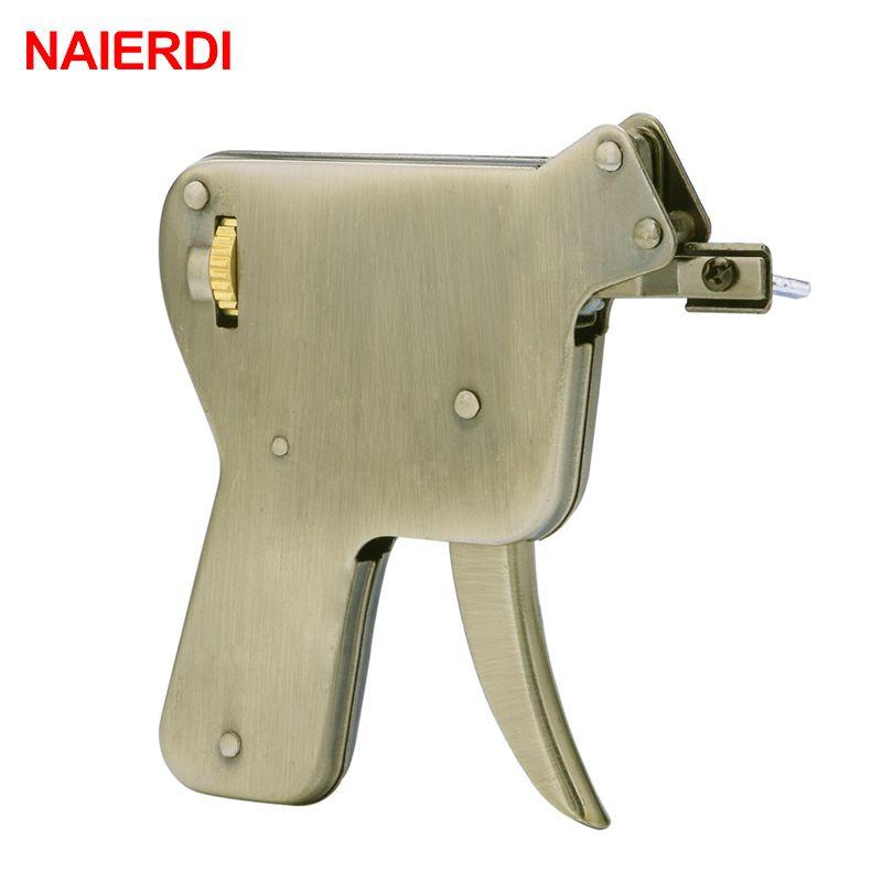 Outils de serrurier NAIERDI pratique outil à main cadenas clé cassée enlever ensemble d'extracteur automatique serrure manuelle choisir pistolet ensemble matériel