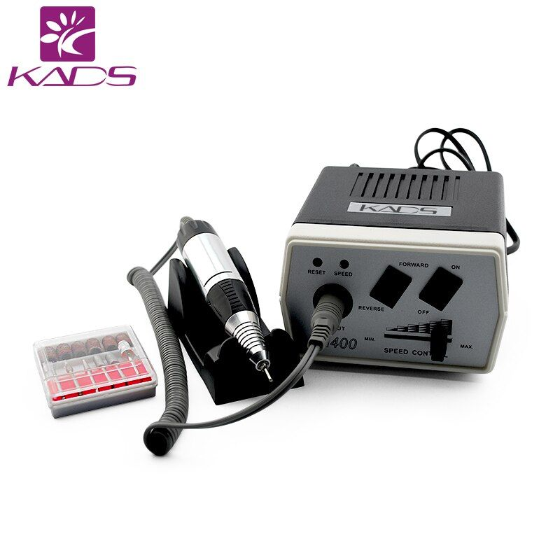 KADS 30000RPM Black nail art drill Nail Equipment Manicure Tools Pedicure Acrylics Grey Electric Nail Art Drill Pen Machine Set