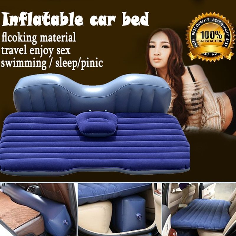 FUWAYDA good quality Offroad Travel Inflatable car bed  Inflatable seat outdoor sofa thicken outdoor mattress car mattress