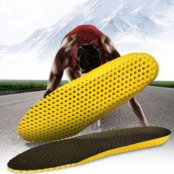 Sneakers Sepatu Insole Sepatu Olahraga Aksesoris Sol Breathable Cushion Eva Pria Wanita Dukungan Kaki Pad Insert untuk Menjalankan Hiking