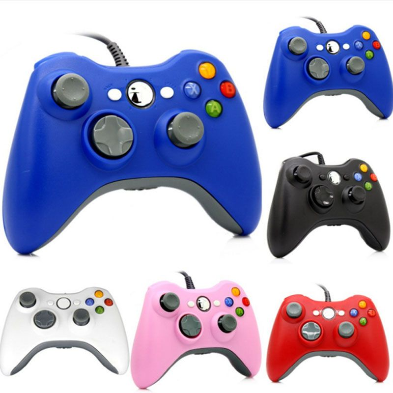 ViGRAND 2017 new <font><b>1pcs</b></font> USB Wired Joypad Gamepad Controller For Xbox 360 Joystick For Official Microsoft PC for Windows7 / 8 / 10