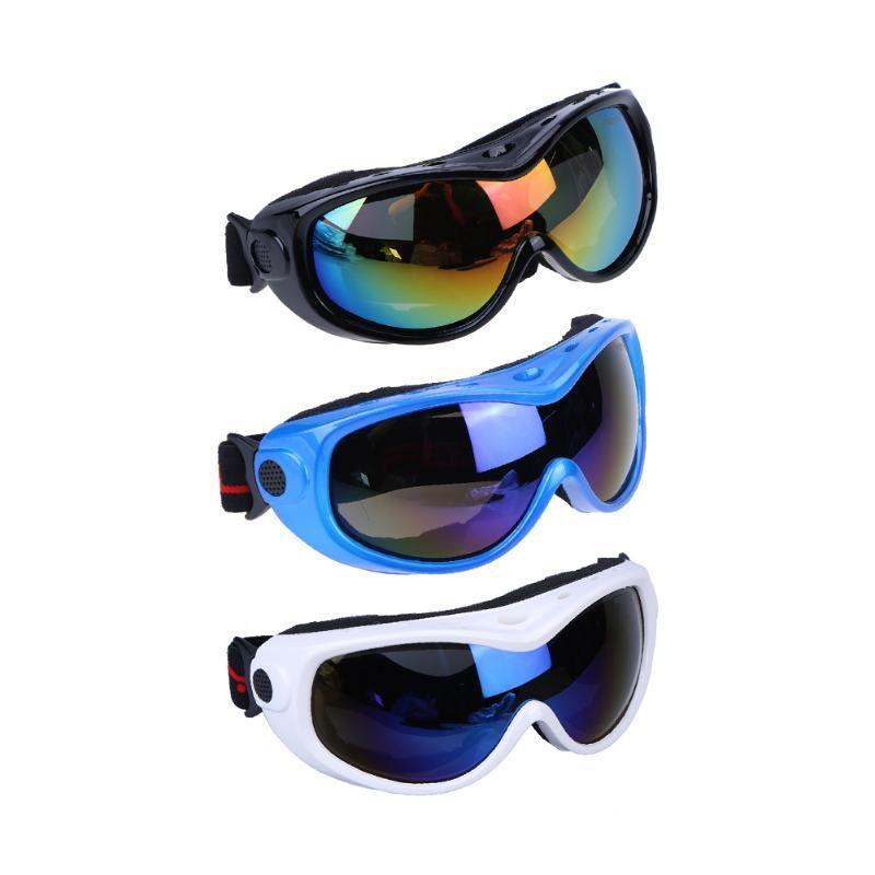 Alta calidad a prueba de arena deporte al aire libre montañismo sola capa esquí gafas de protección niños adolescente Gafas de esquí