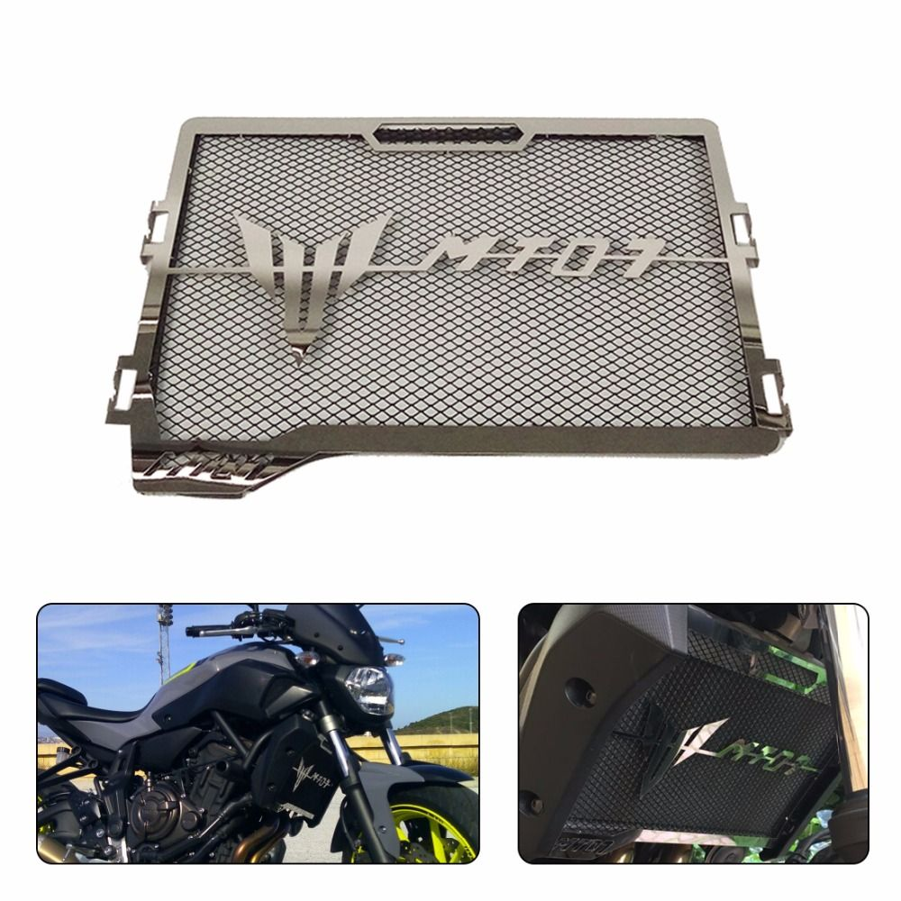 For Yamaha MT-07 MT07 MT 07 Radiator Grille Guard Cover Protector For Yamaha MT-07 2014 2015 2016 2017 100% Brand new