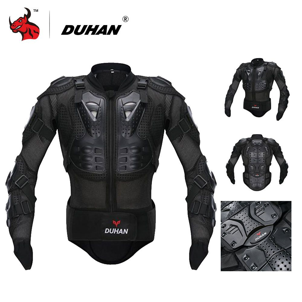 DUHAN Motorcycle Armor Motorcycle Racing Armor Protector Motocross Off-Road Body Protection Jacket Clothing Protective Gear