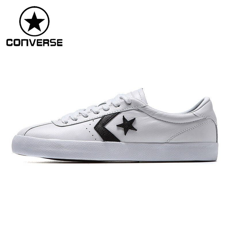 Original New Arrival 2017 Converse Star Player Unisex Skateboarding Shoes leather Sneakers