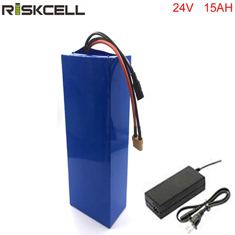 24v ebike battery 24v 15ah lithium battery pack for bafang 8fun motor with charger and bms