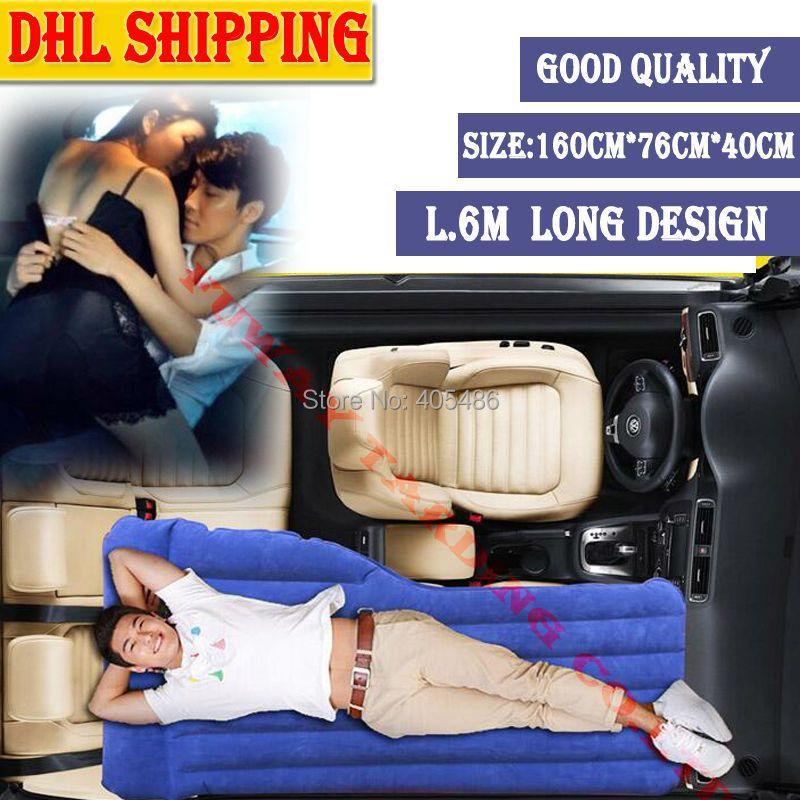 DHL Reisebett Auto vorne/Zurück Sitzbezug Matratze Auto Aufblasbare auto Bett für FÜR AUDI A1 A4 (B8) A5 S5 Q5 TT/PASSAT R36 5D