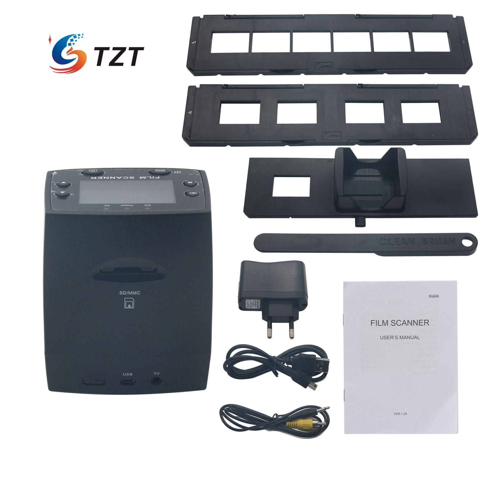 Digital 35mm 5.0MP Negative Film Slide Scanner Viewer USB Color Monochrome Photo Copier EC717