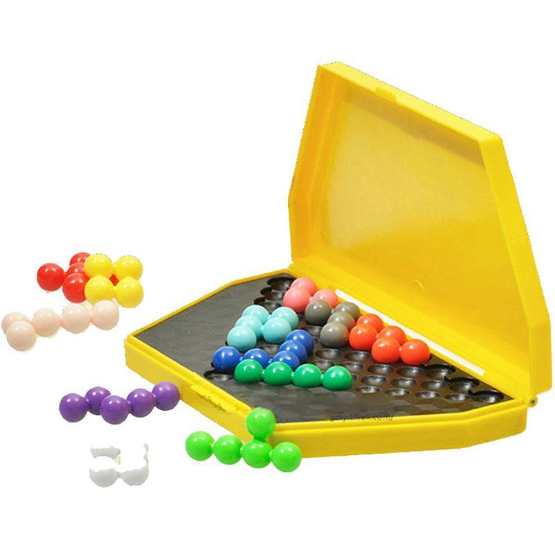 Classique logique Puzzle enfants esprit cerveau teaser perles Puzzles jeu jouets pour enfants adultes 1 manuel 180 défis