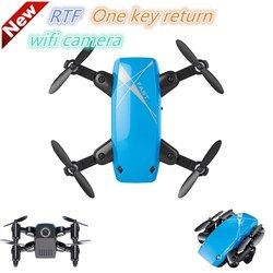 S9 Micro Foldable FPV RC Quadcopter RTF 2.4GHz Wireless 4CH 6-axis Gyro Headless Mode One Key Return with 0.3MP Camera