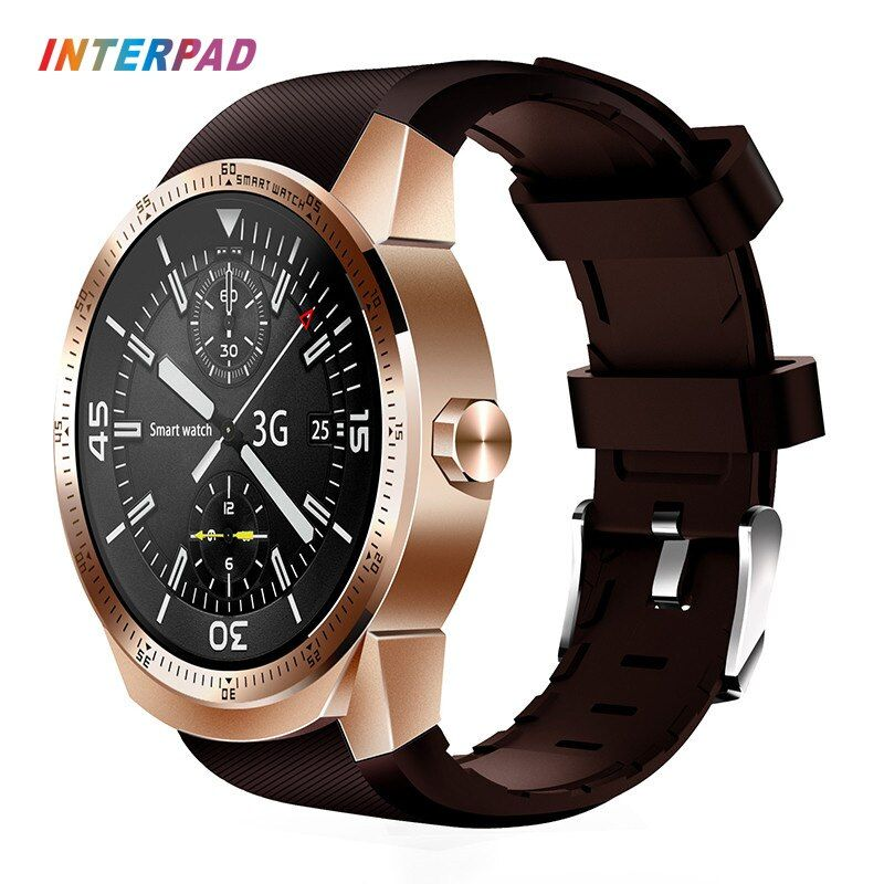 2017 Interpad 3G Smartwatch Android 4.1 MTK6572A 4GB ROM Phone Clock Bluetooth GPS Smart Watch For Windows Android iOS Phone