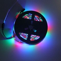 Светодиодная лента woodow 0,5 M-5 M, супер яркая, 2835 RGB, зеленая, красная, синяя, теплая, белая, набор, не водонепроницаемые ленты, гибкая лента 12 В пос...