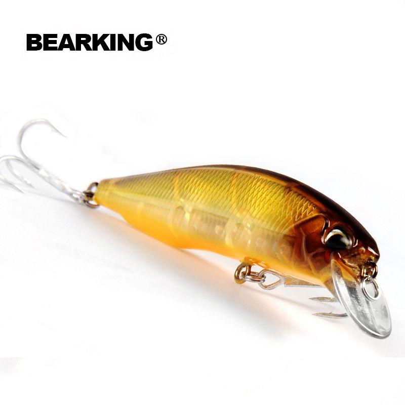 Einzelhandel 2017 gute angeln lockt minnow, qualität professionelle köder 10 cm/14,5g, bär king Hot modell